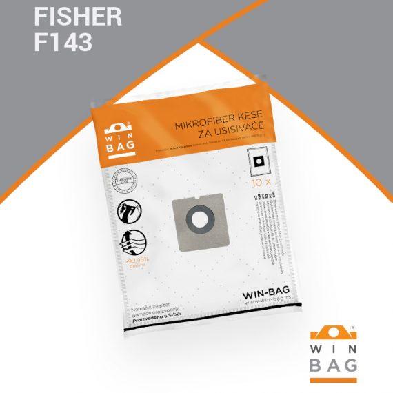 Fisher kese za usisivace WIN-BAG F143