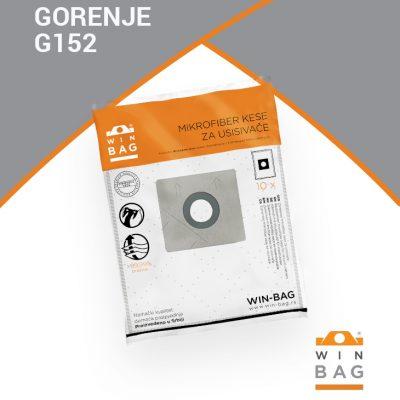 GORENJE kese za usisivače VC2220-VC2226/VC1621/ VCM1621/VCK2000 model G152