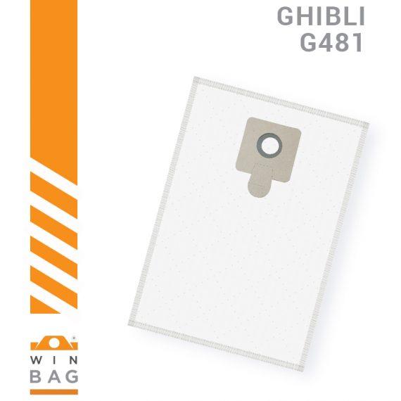 Ghibli kese za usisivace AS5 G481