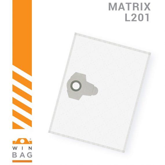 Matrix kese za usisivace VCW1250, VC1250, VC1400 L201