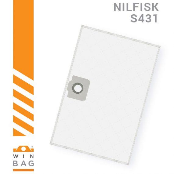 Nilfisk-WAP kese za usisivace SQ450-SQ490 S431