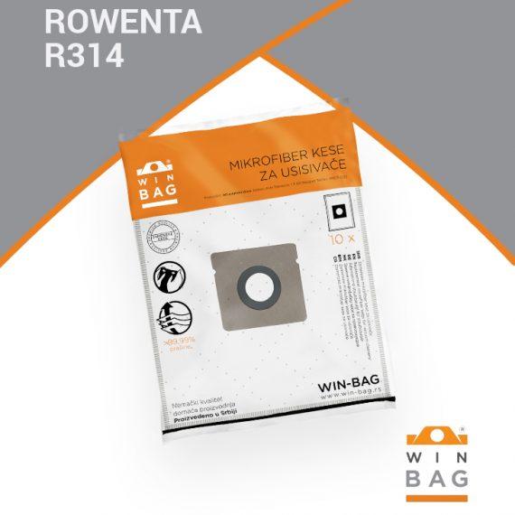 ROWENTA kese za usisivače RO1855/RO2321ea-RO2443/RO2611-RO2699 model R314