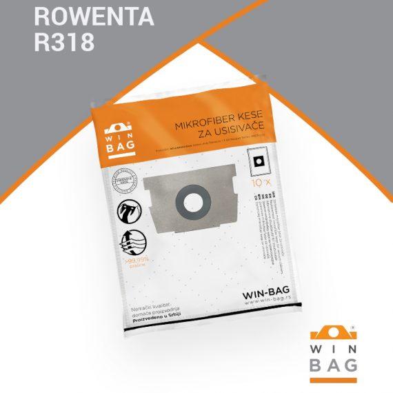 ROWENTA kese za usisivače RO4600-RO4999/RO1400-RO1699/RO2000-RO2999 model R318