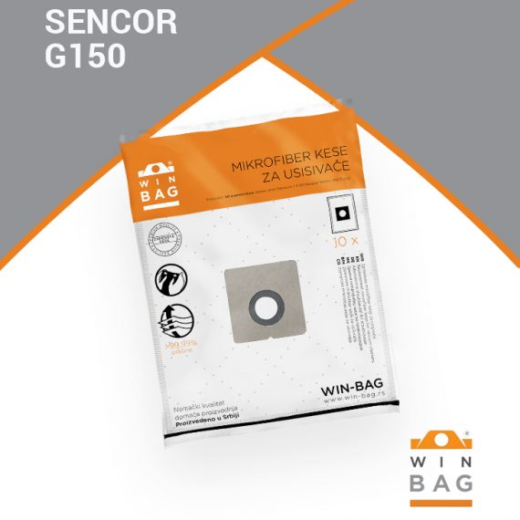 Sencor kese za usisivace G150