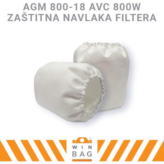 AGM-800-18-AVC-800W navlaka filtera WIN-BAG