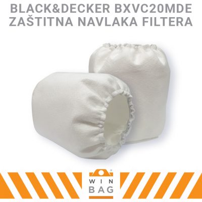 Black&Decker BXVC20MDE navlaka filtera WIN-BAG