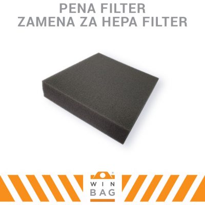 Pena Filter zamena za Hepa filter WIN-BAG