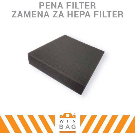 Pena Filter zamena za Hepa filter WIN-BAG