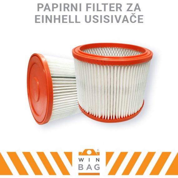 Filter za EINHELL usisivače AS/BT-VC/DUO/INOX/TE-VC/TH-VC