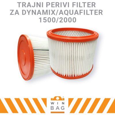 Filter za Dynamix Aquafilter 1500/Dynamix Aquafilter 2000 usisivače
